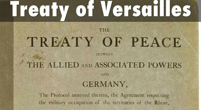 """History Trivia Question: Which Frenchman was one of the """"Big Four"""" statesmen that drafted the Treaty of Versailles?"""
