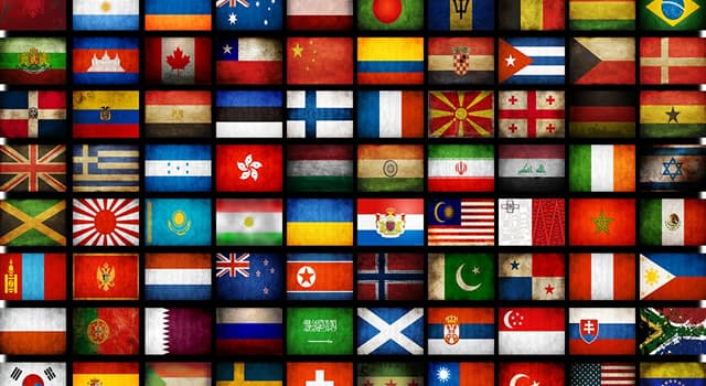 Geography Trivia Question: Which of these flags is not a tricolour?