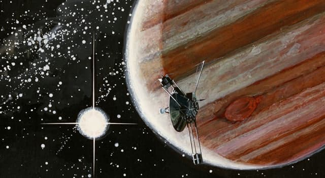 History Trivia Question: Which space probe set off for Jupiter in 1972?