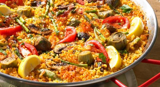 Culture Trivia Question: Which spice makes the Spanish dish paella tawny in colour?