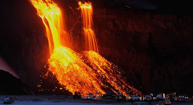 Nature Trivia Question: Which volcano erupted on Iceland on 17 January 1991?