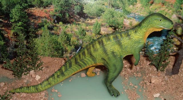 Science Trivia Question: Which was the first dinosaur to be described in the scientific literature?