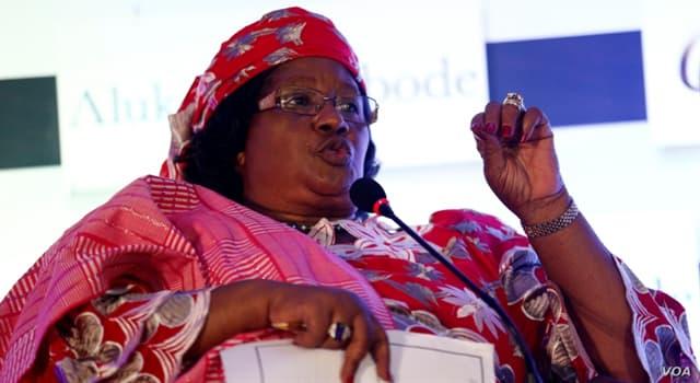 Society Trivia Question: Who is Joyce Banda?