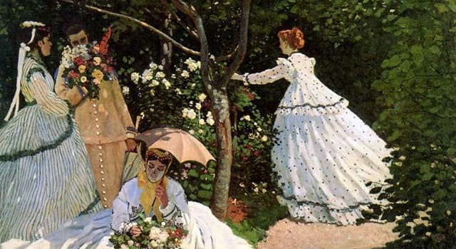 """Culture Trivia Question: Who painted """"Women in the Garden""""?"""