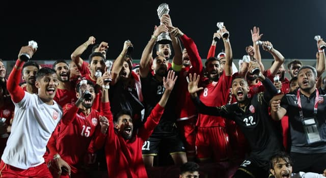 Sport Trivia Question: Who scored the winning goal in the final of the 2019 Arabian Gulf Cup?