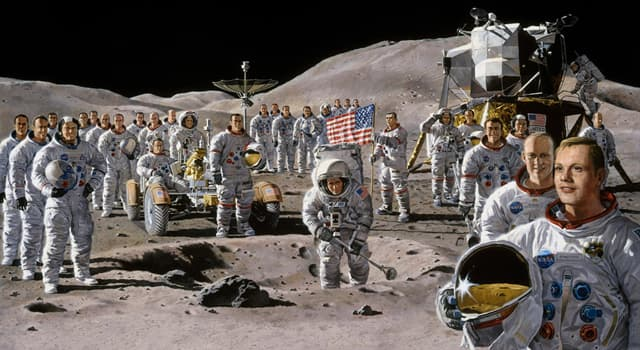 Science Trivia Question: Who was the only astronaut to travel to the Moon twice, but never walked on it?