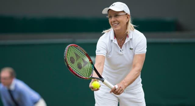 Sport Trivia Question: Whose record of eight Wimbledon Women's singles titles did Martina Navratilova surpass in 1990?