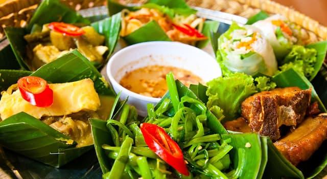 Культура Запитання-цікавинка: Що є основою їжі камбоджійців?