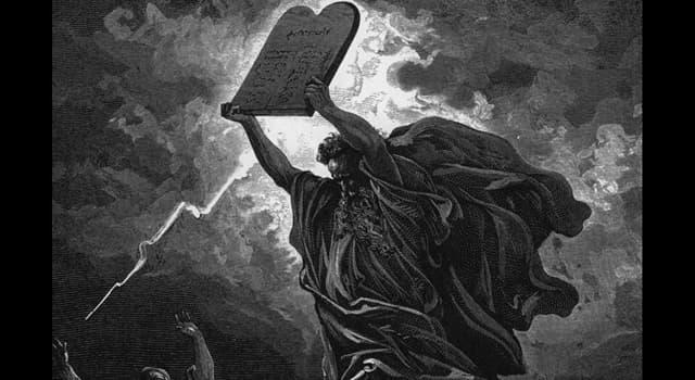 Культура Запитання-цікавинка: Як називаються дві кам'яні плити, на яких, згідно з Біблією, були написані Десять заповідей?