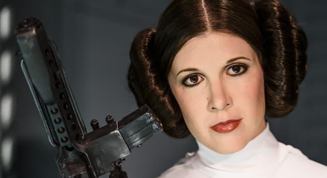 Фільми та серіали Запитання-цікавинка: Як звуть сестру-двійнята Люка Скайуокера в кіносазі «Зоряні війни»?
