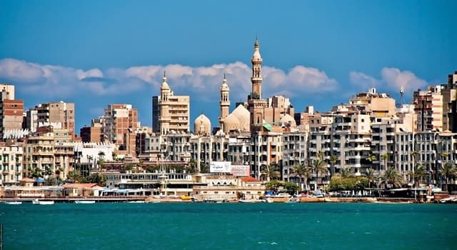 Географія Запитання-цікавинка: Яке місто Єгипту є другим за величиною після Каїра?