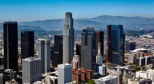 Географія Запитання-цікавинка: Яке місто США є другим за чисельністю населення після Нью-Йорка?