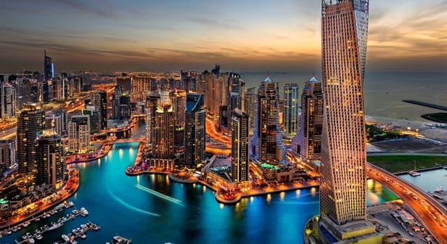 Географія Запитання-цікавинка: Яке місто є найбільшим в Об'єднаних Арабських Еміратах?