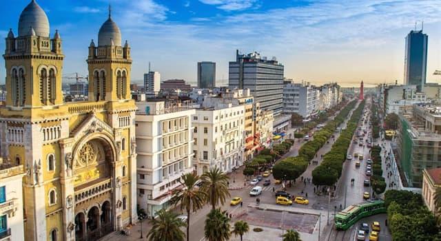 Географія Запитання-цікавинка: Яке місто є офіційною столицею Тунісу?