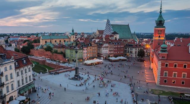 Географія Запитання-цікавинка: Яке місто є столицею Польщі?