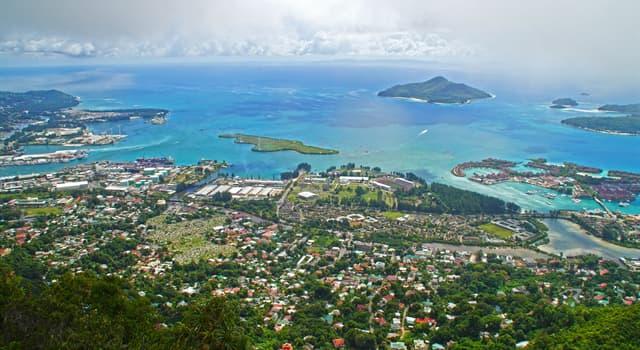 Географія Запитання-цікавинка: Яке місто є столицею Республіки Сейшельські Острови?