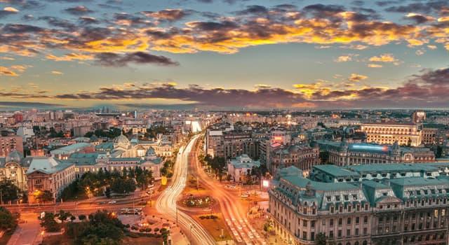 Географія Запитання-цікавинка: Яке місто є столицею Румунії?