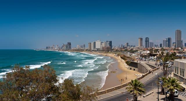 Географія Запитання-цікавинка: Яке місто є другим за чисельністю населення в Ізраїлі?