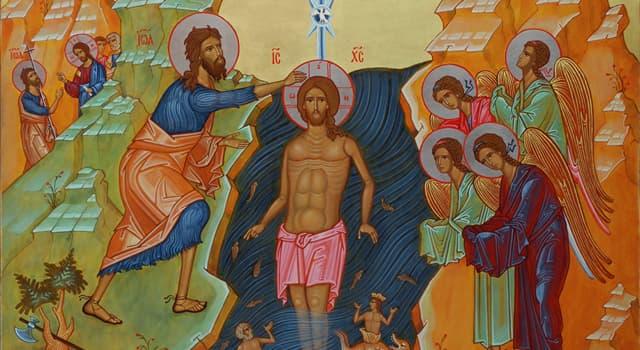 Культура Запитання-цікавинка: Коли частина православних церков, в тому числі Російська, святкують Хрещення Господнє?