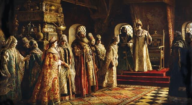Історія Запитання-цікавинка: Хто першим Вінчався на царство як глава держави?