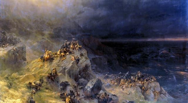 Культура Запитання-цікавинка: Хто, згідно з Біблією, був врятований Богом від Всесвітнього потопу і став продовжувачем людського роду?