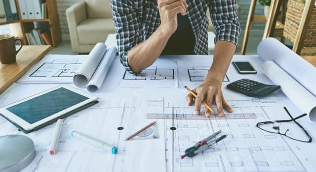 Суспільство Запитання-цікавинка: Хто займається проектуванням будівель?