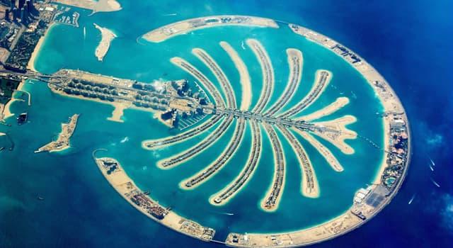Географія Запитання-цікавинка: На території якого емірату ОАЕ знаходяться Пальмові острови?