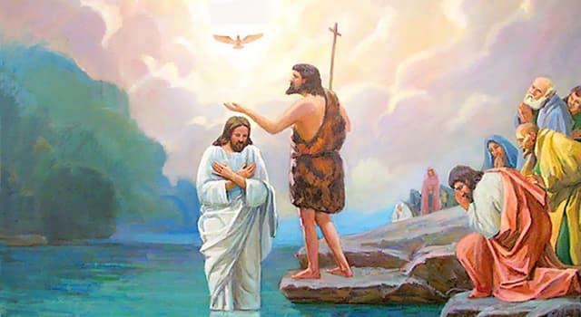 Культура Запитання-цікавинка: В якій річці, згідно з Євангелієм, прийняв хрещення Ісус Христос?