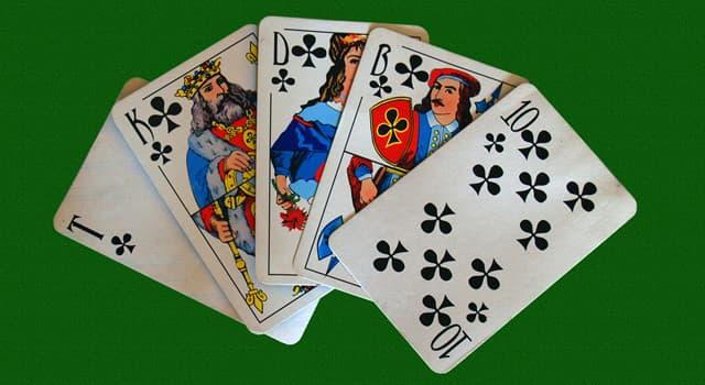 Культура Запитання-цікавинка: Що з перерахованого - карткова гра?