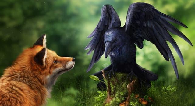 Культура Запитання-цікавинка: Що роздобула ворона в байці «Ворона і Лисиця» І. А. Крилова?