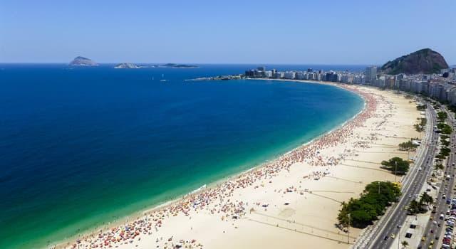 Географія Запитання-цікавинка: Де знаходиться знаменитий пляж Копакабана?