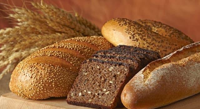 Культура Запитання-цікавинка: З чого роблять хліб?