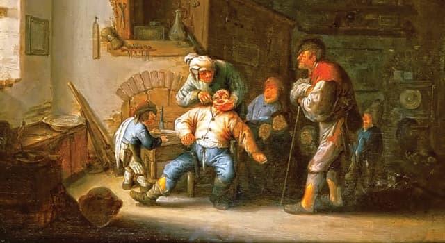 Історія Запитання-цікавинка: Як історично називали перукаря і банщика, який володіє елементарними прийомами хірургії?