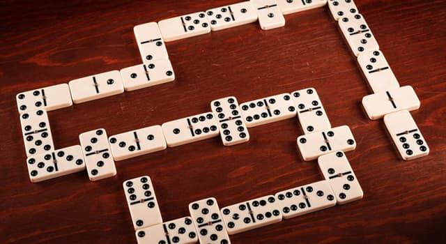 Культура Запитання-цікавинка: Як називається настільна гра, в процесі якої вибудовується ланцюг кісточок?