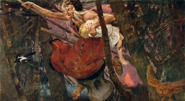 Культура Запитання-цікавинка: Як називається житло Баби-Яги в російських чарівних казках?