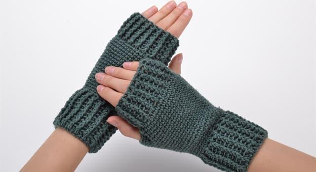 Культура Запитання-цікавинка: Як називають рукавички без пальців?