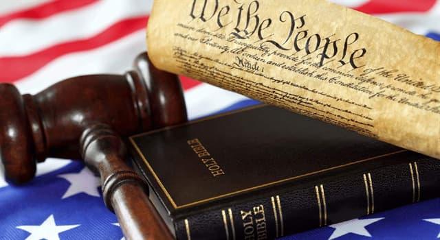 Суспільство Запитання-цікавинка: Який з цих законів в США існує?