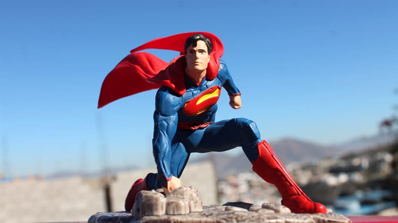 Culture Trivia Question: Which fictional material appears in Superman stories?