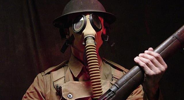 historia Pytanie-Ciekawostka: Który kraj jako pierwszy użył trującego gazu podczas I wojny światowej?