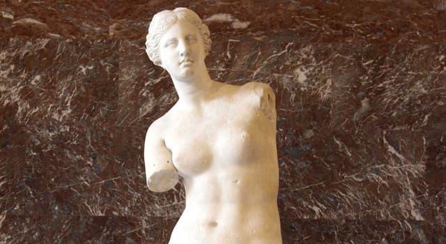 Cultura Pregunta Trivia: ¿Dónde está actualmente la antigua estatua griega Venus de Milo?