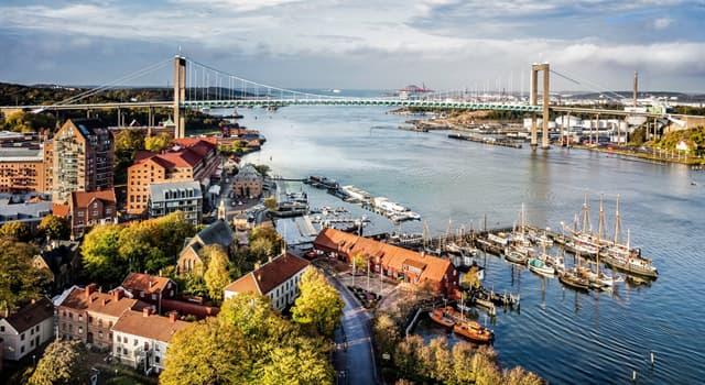 Geografía Pregunta Trivia: ¿Cuál es la segunda ciudad más poblada de Suecia?
