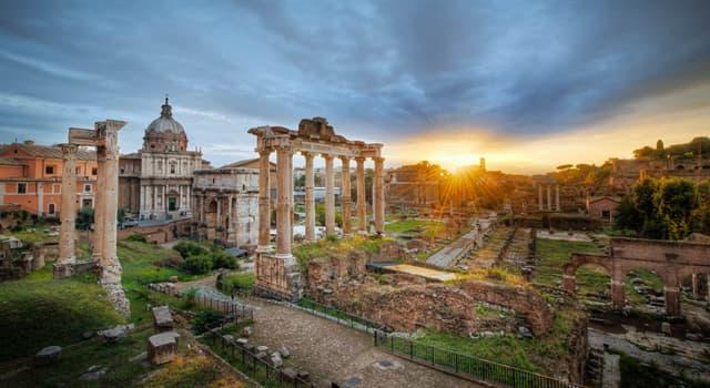 Historia Pregunta Trivia: En la Antigua Roma, ¿cómo se llamaba el lugar del centro de la ciudad que tenía edificios gubernamentales?