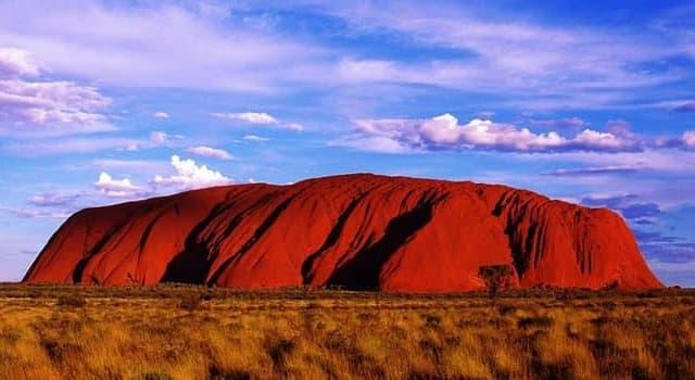 Geographie Wissensfrage: In welchem Land befindet sich Uluru (Ayers Rock)?