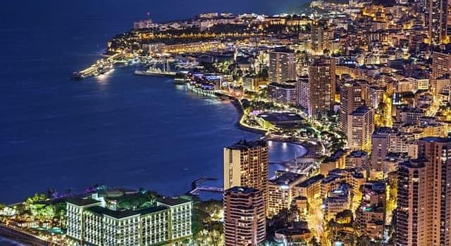 Географія Запитання-цікавинка: Яке місто є офіційною столицею Князівства Монако?