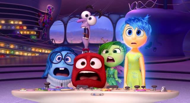 Películas Pregunta Trivia: ¿Cuáles son las 5 emociones personificadas en la película Inside Out (Intensa-Mente) del 2015?