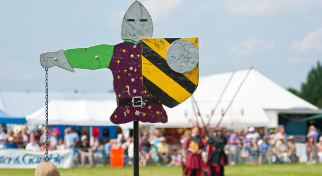 Historia Pregunta Trivia: ¿Cómo se llama la figura giratoria de hombre que se utilizaba para entrenar a la caballería en la Edad Media?