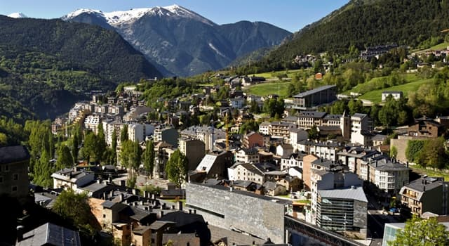 Geografía Pregunta Trivia: ¿Cuál de los siguientes es un microestado situado entre Francia y España?