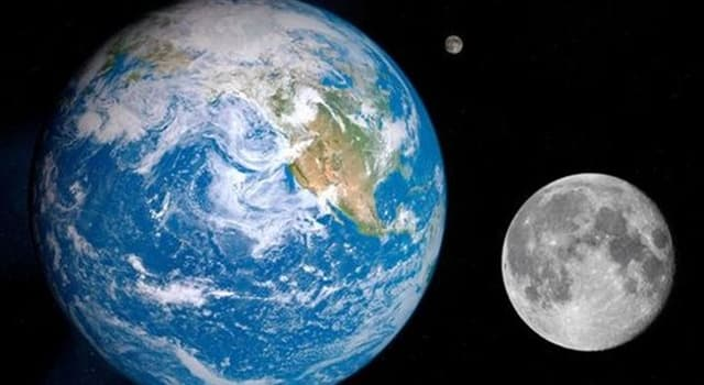 Наука Вопрос: Когда Луна находится между орбитами Земли и Солнца?