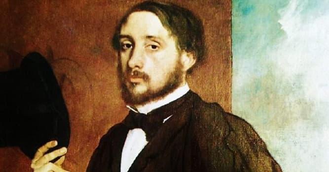 Kultura Pytanie-Ciekawostka: Edgar Degas jest szczególnie znany z obrazów przedstawiających jaką formę sztuki?