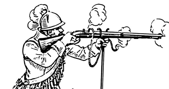 historia Pytanie-Ciekawostka: Kiedy wynaleziono arkebuz, ciężki i prymitywny karabin?